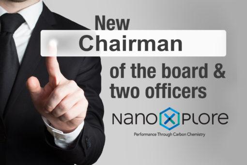 New Chairman of the board @NanoXplore